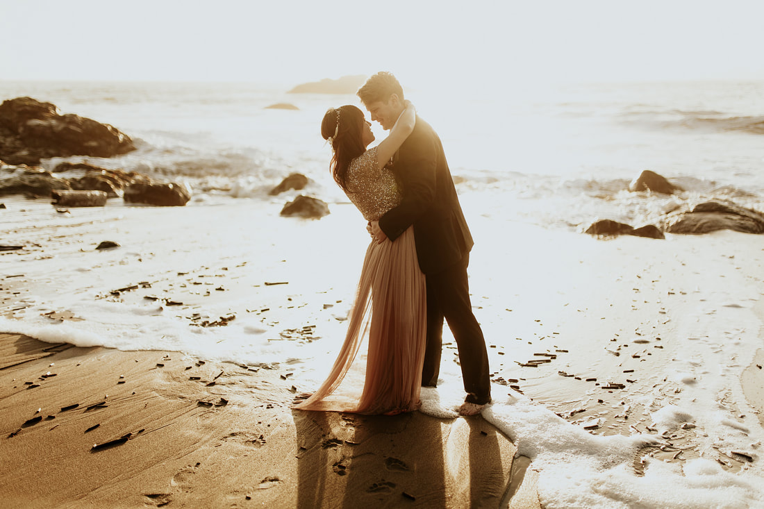 San Francisco Coast Beach Engagement Photography | Bay Area Wedding Photographer
