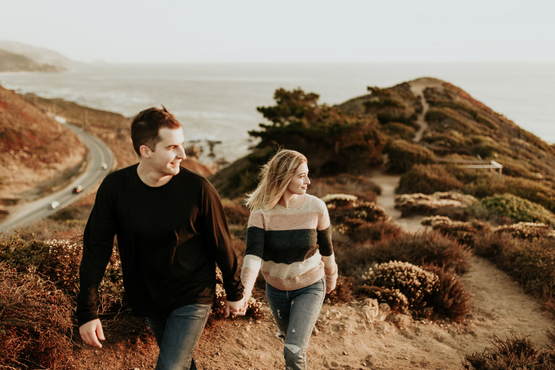 Big Sur Proposal Engagement Photography