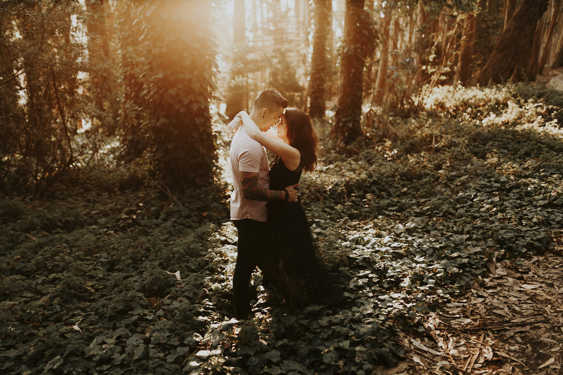 Forest San Francisco Engagement Bay Area Wedding Photography