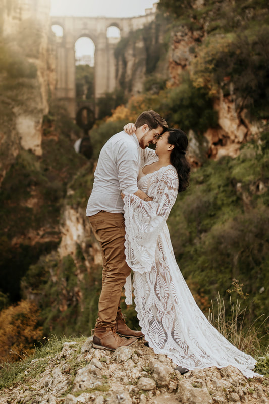 Ronda Spain Destination Elopement Photographer
