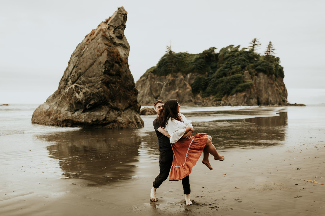 Washington Pacific Northwest Olympic National Park Elopement Photographer