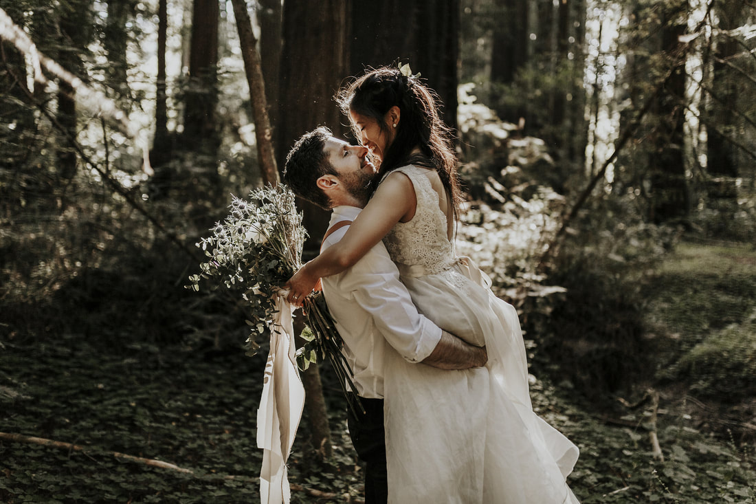 Henry Cowell Redwoods Wedding | Santa Cruz Wedding Photographer