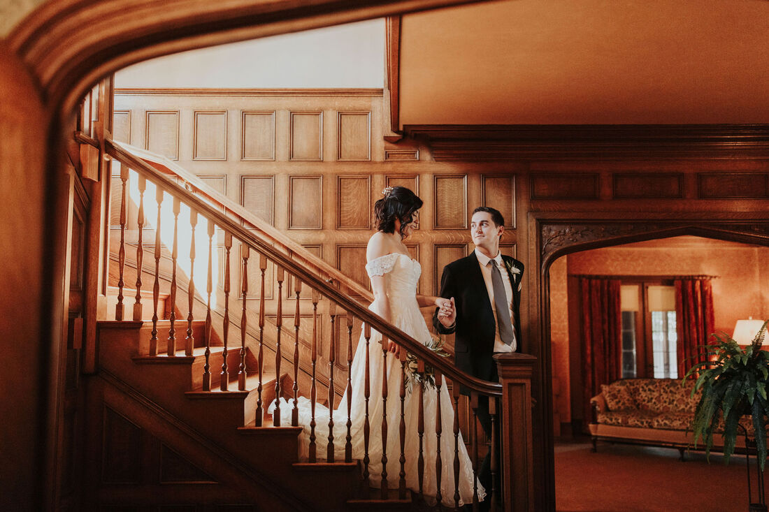Ainsley House Wedding Photographer
