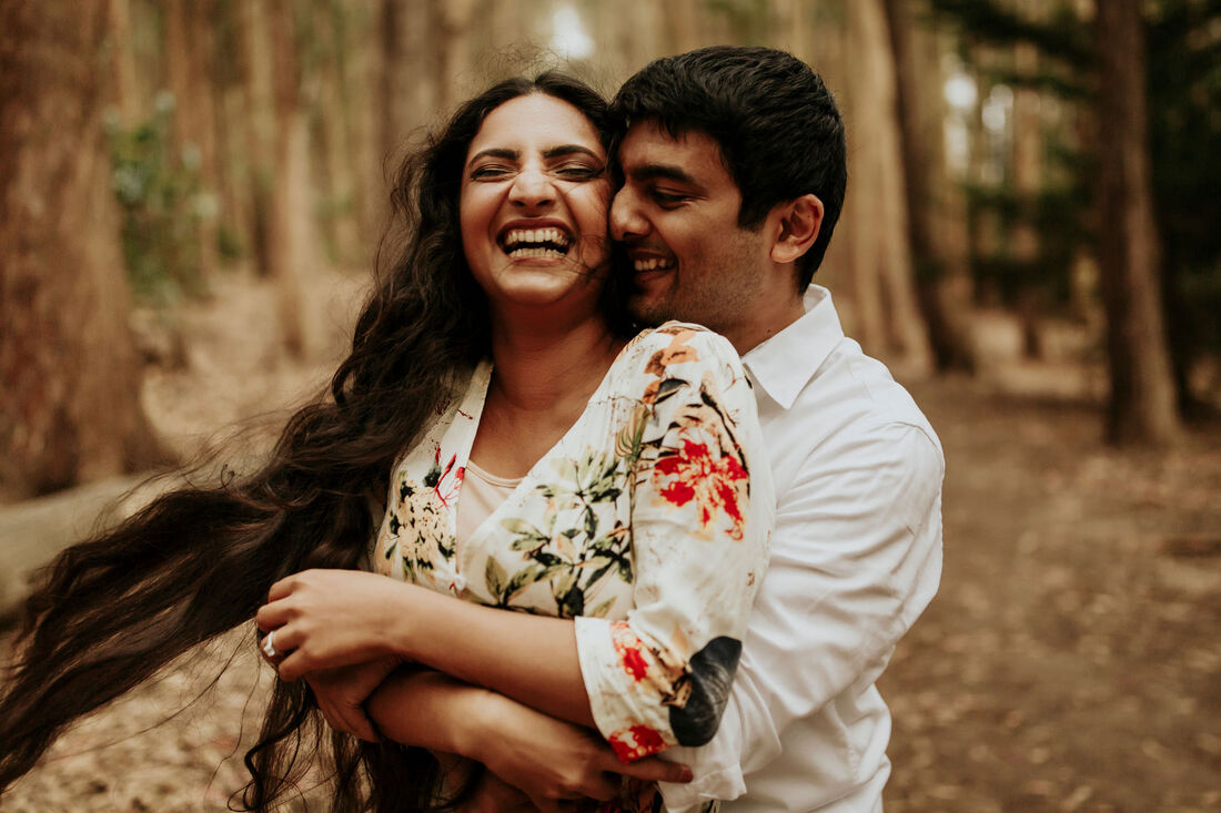 Indian San Francisco Engagement Photographer