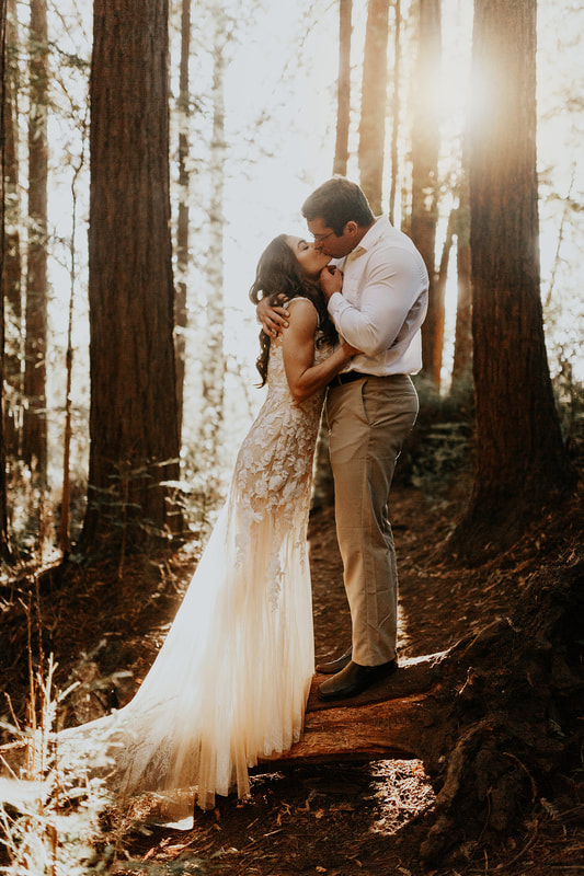 California Redwood Elopement Photographer