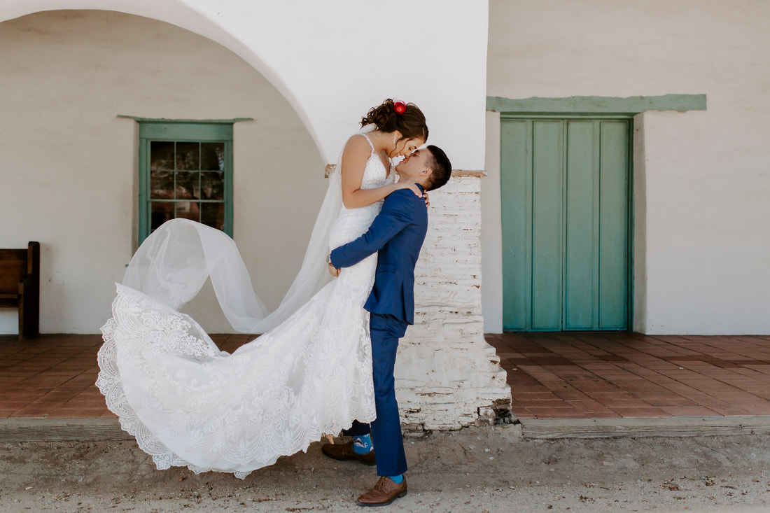 Mexican Boho Wedding at Jardines De San Juan Bay Area California