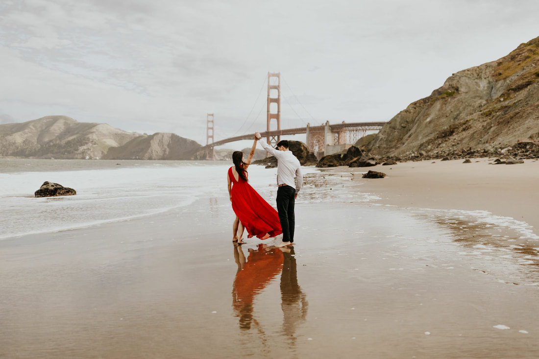 San Francisco Golden Gate Bridge Engagement Photographer