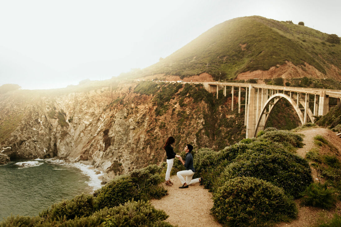 Big Sur Proposal Photographer