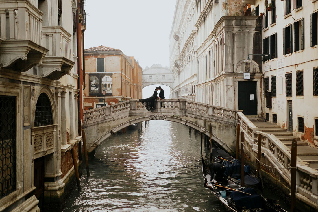 Venice Engagement Elopement Photography in Italy