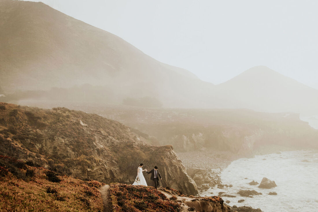 Wind and Sea Big Sur Wedding Elopement Photographer