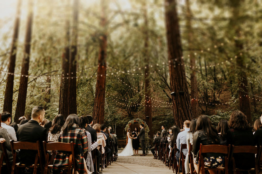 Redwood Wedding Venues In The Bay Area And Santa Cruz